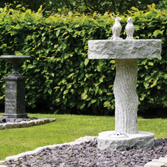 Bird Baths and Sundials