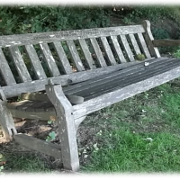 Wooden Memorial Bench Safety